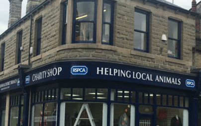 Shop benefits from HLF and Council grant