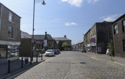 <p><strong>Haslingden</strong> Town Centre</p>
